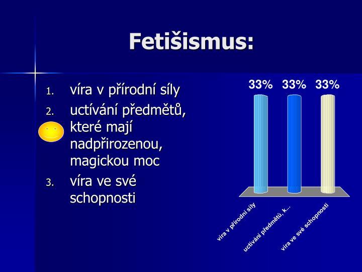 Fetišismus:
