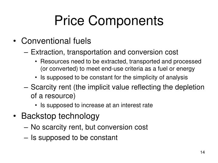 Price Components