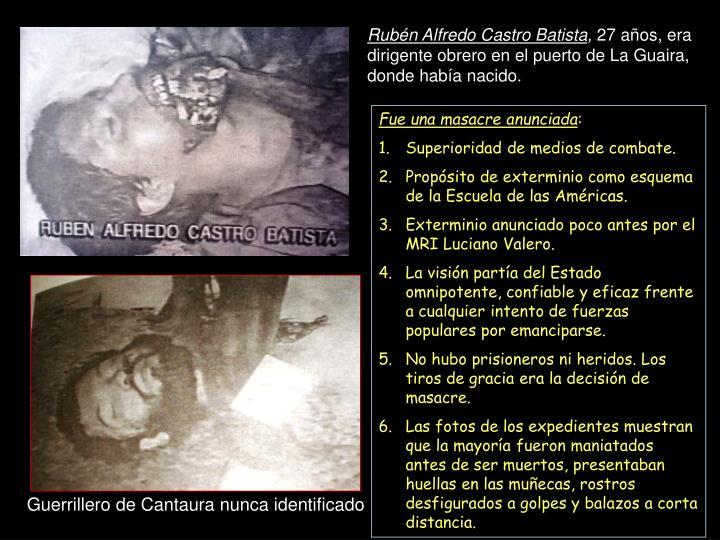 Rubén Alfredo Castro Batista