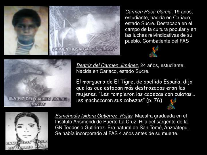Carmen Rosa García