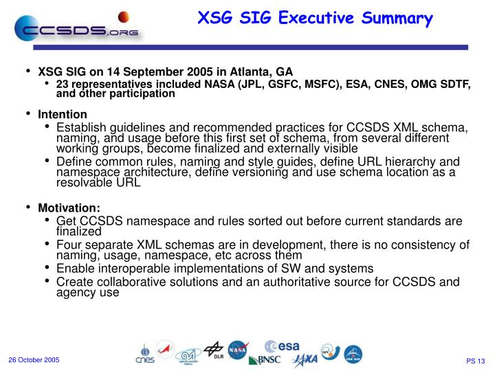 XSG SIG on 14 September 2005 in Atlanta, GA