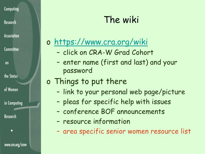 The wiki