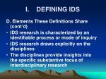 i defining ids10