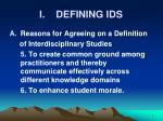 i defining ids4
