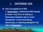 i defining ids5