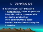 i defining ids7