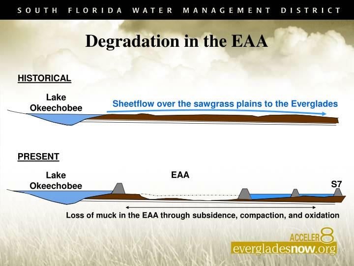 Degradation in the EAA