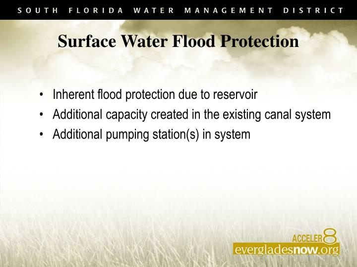 Surface Water Flood Protection