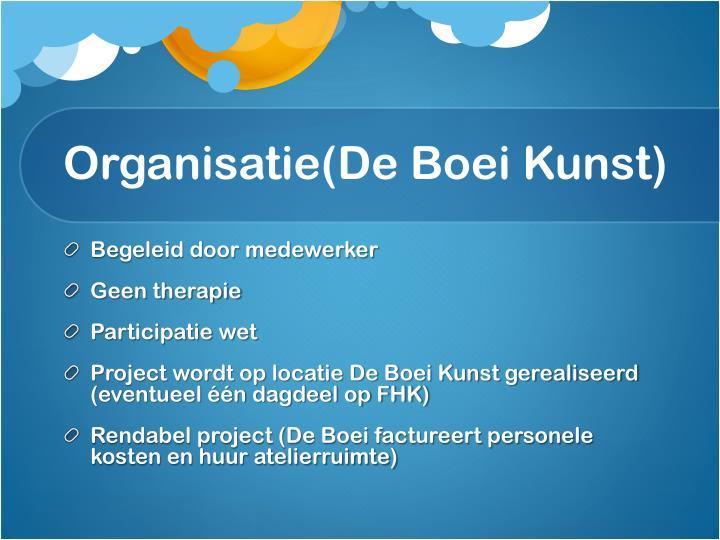 Organisatie(De Boei Kunst)