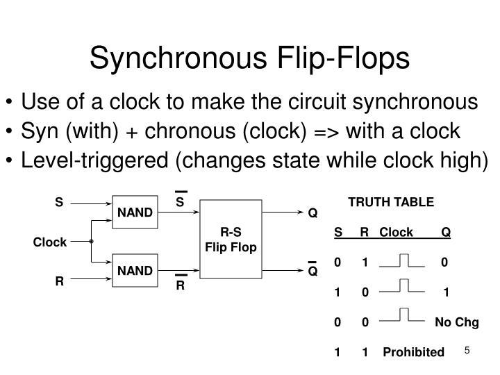 Synchronous Flip-Flops