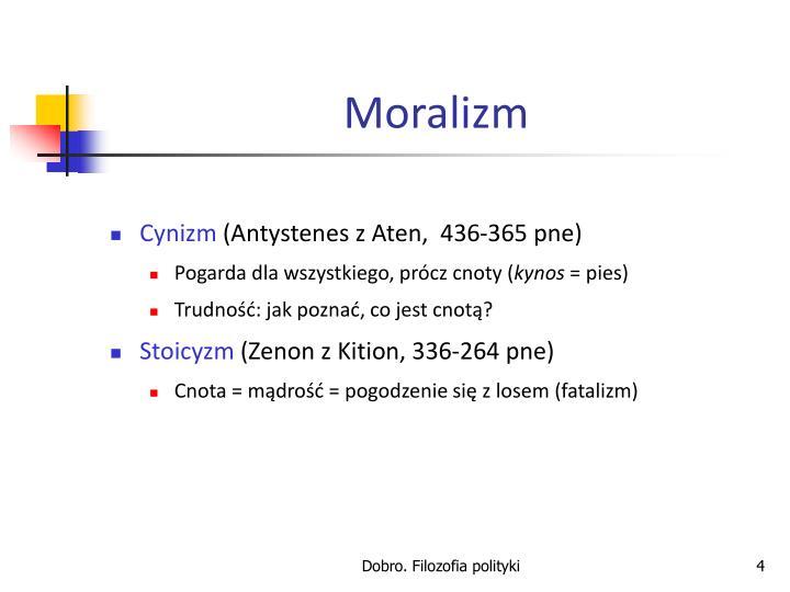 Moralizm