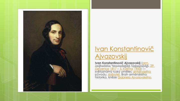 Ivan Konstantinovič