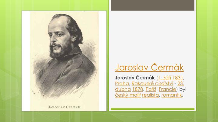 Jaroslav Čermák