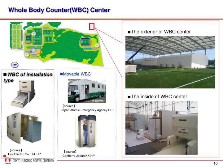 Whole Body Counter(WBC) Center
