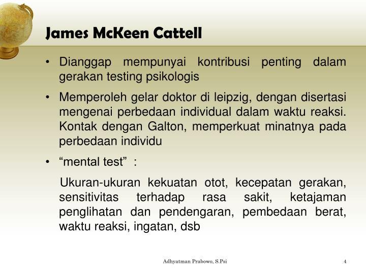 James McKeen Cattell