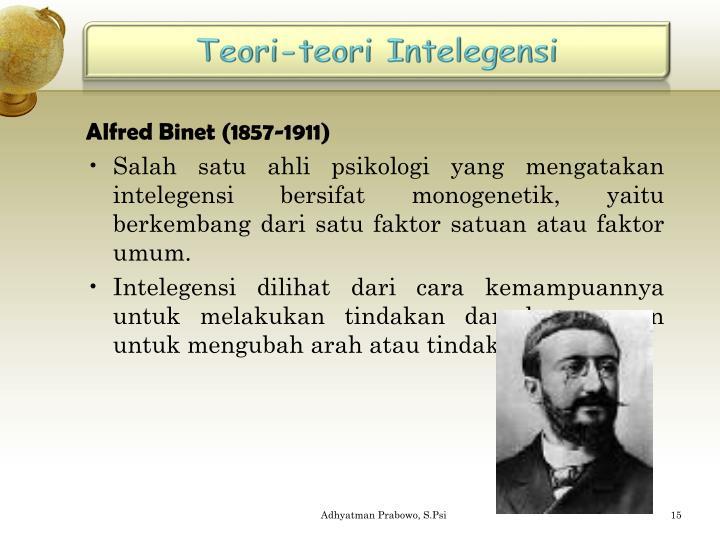 Teori-teori Intelegensi