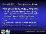 sec 62 4331 purpose and intent