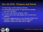 sec 62 4331 purpose and intent1