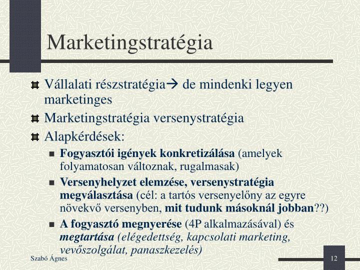 Marketingstratégia