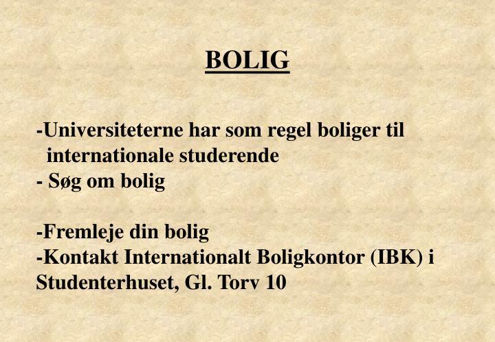 BOLIG