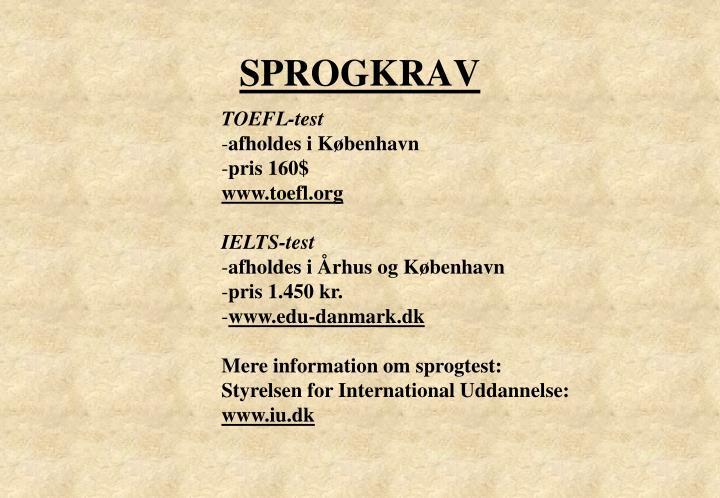 SPROGKRAV