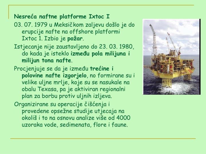Nesreća naftne platforme