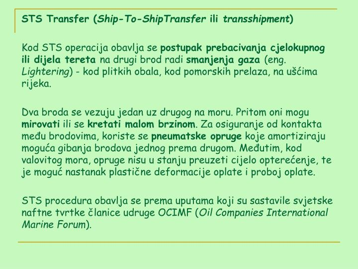 STS Transfer (