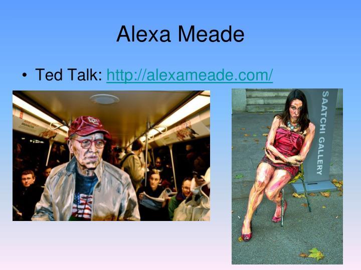 Alexa Meade