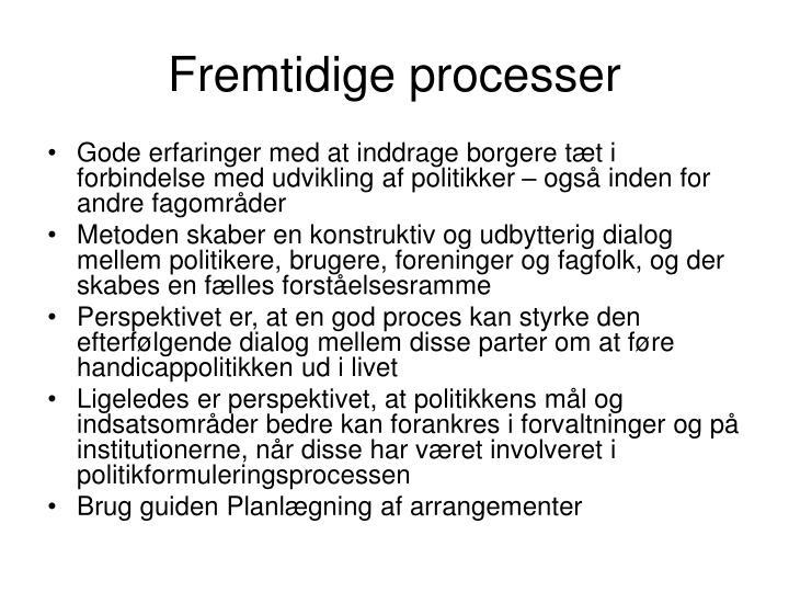 Fremtidige processer