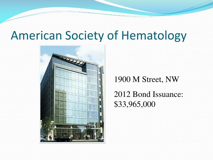 American Society of Hematology