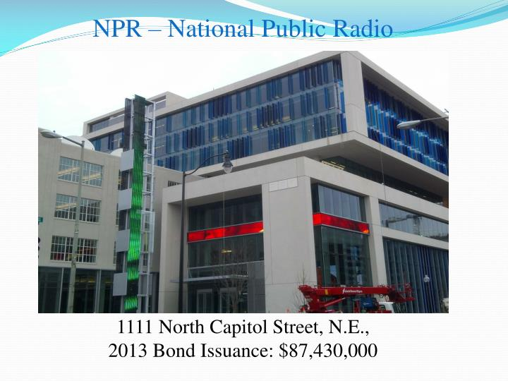 NPR – National Public Radio