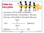 public key encryption1