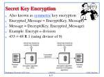 secret key encryption1