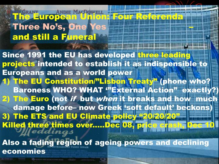 The European Union: Four Referenda