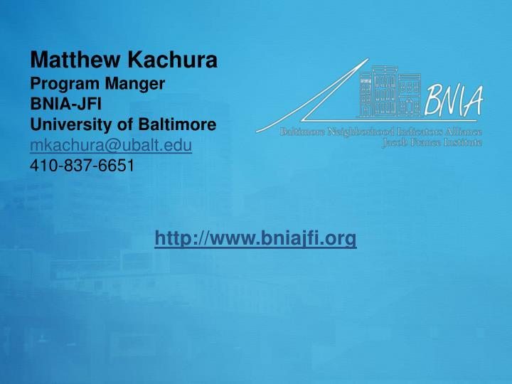 Matthew Kachura