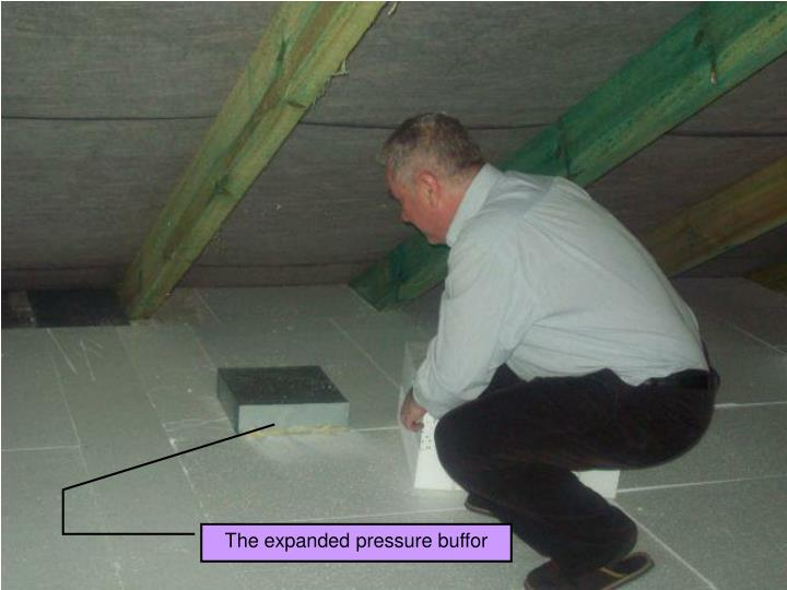 The expanded pressure buffor