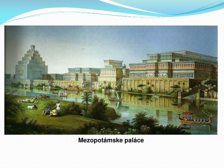 Mezopotámske paláce