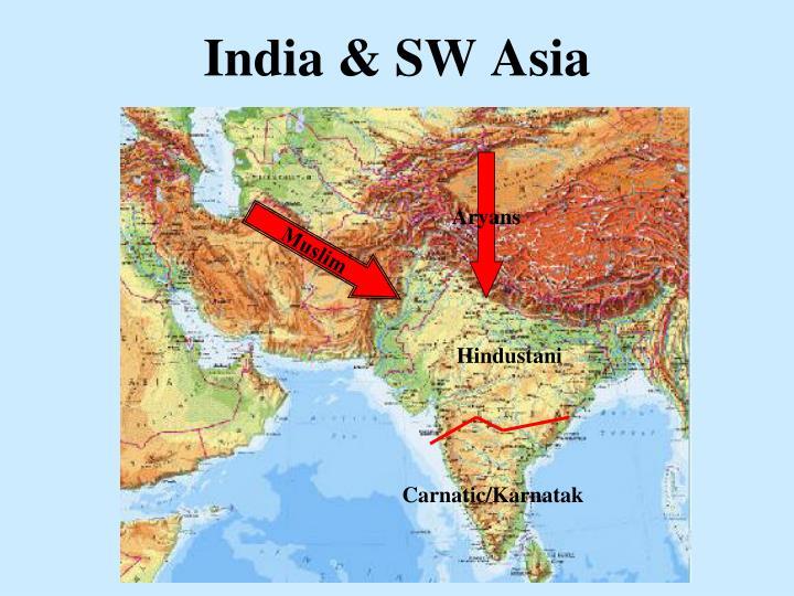 India & SW Asia
