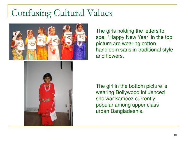 Confusing Cultural Values
