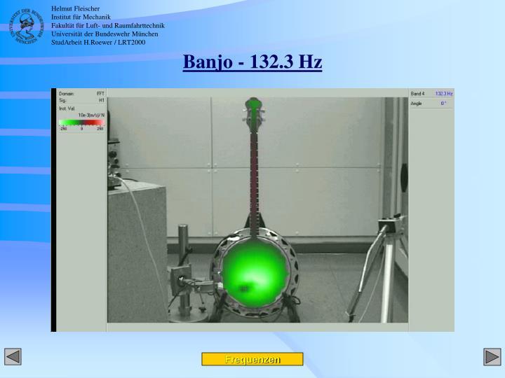 Banjo - 132.3 Hz