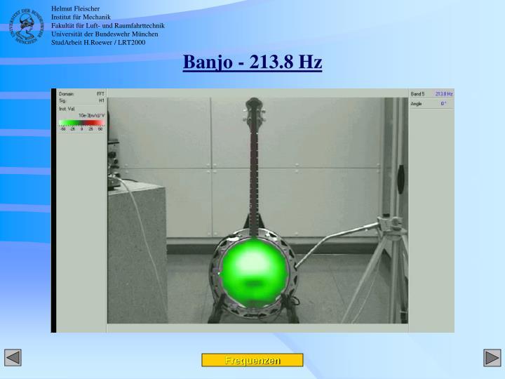 Banjo - 213.8 Hz