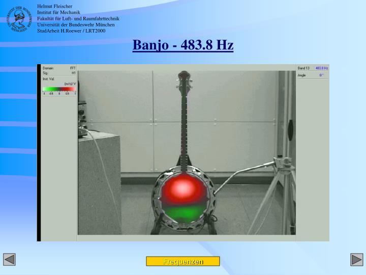 Banjo - 483.8 Hz