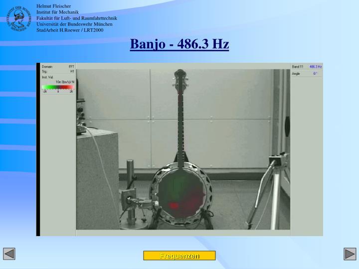 Banjo - 486.3 Hz