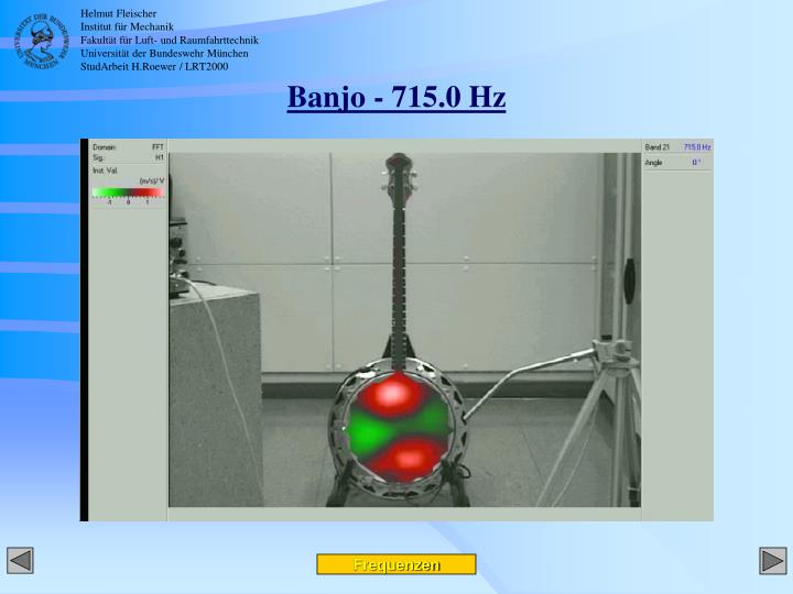 Banjo - 715.0 Hz