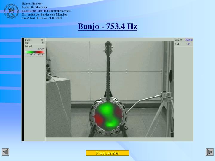 Banjo - 753.4 Hz