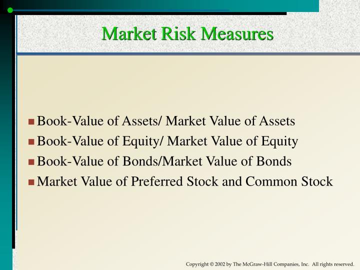 Market Risk Measures