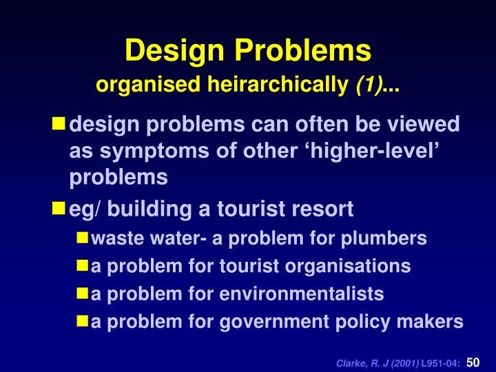 Design Problems