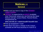 notices 1 general
