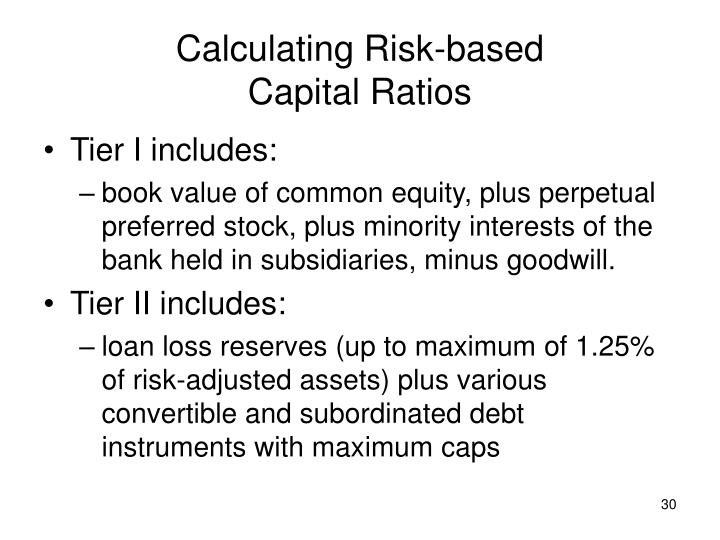 Calculating Risk-based