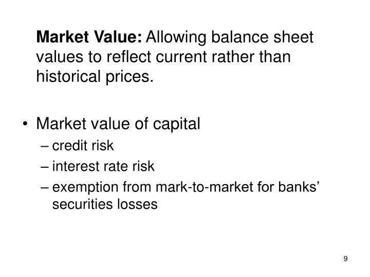 Market Value:
